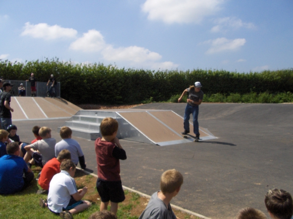 St Cleer Skate Park Project